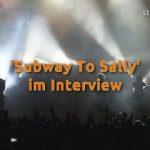 Subway To Sally im Interview 2013