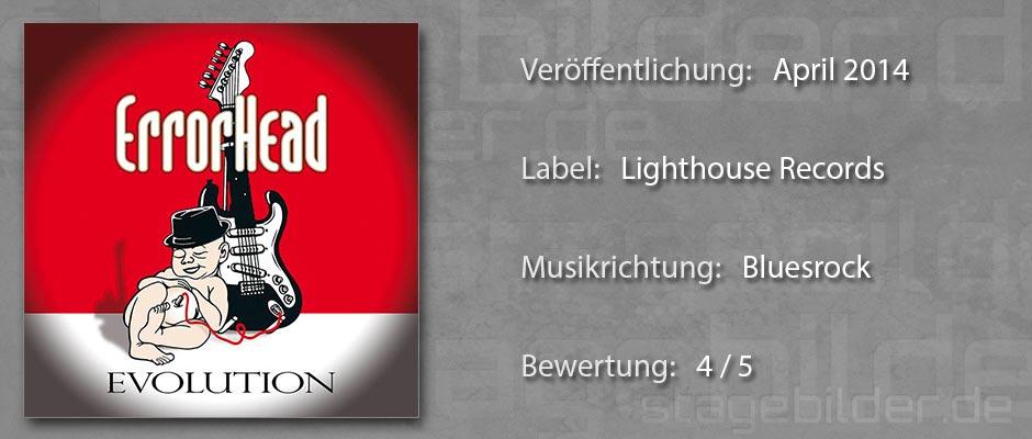 CD-Review Errorhead Evolution
