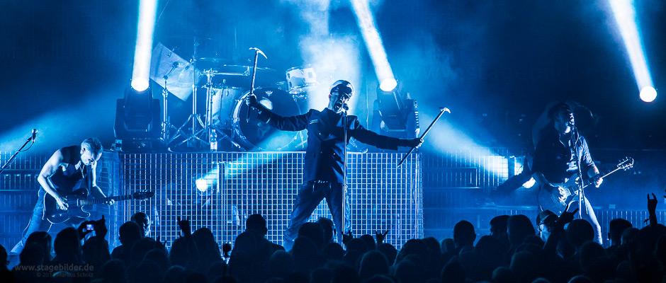 Eisbrecher als Headliner auf dem Veldensteiner Festival 2014 Foto: Markus Scholz - stagebilder.de