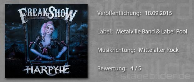 CD-Review Harpyie Freakshow