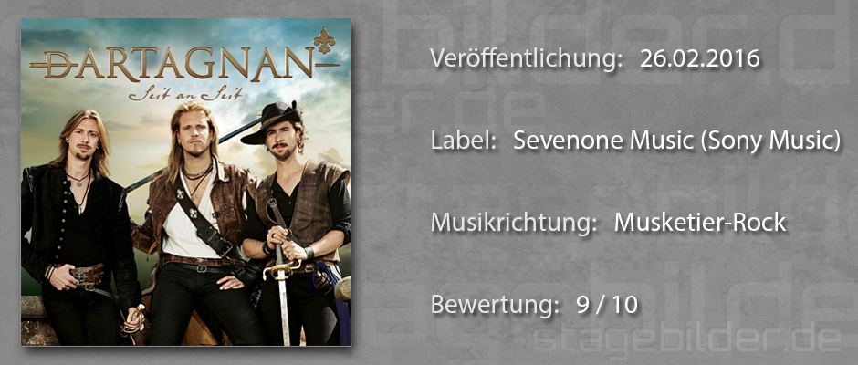 CD-Review dArtagnan - Seit an Seit